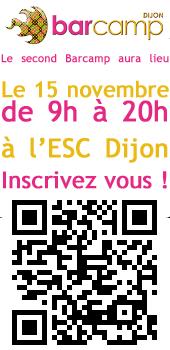 Barcamp 2 à Dijon